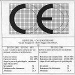 marchio CE renice